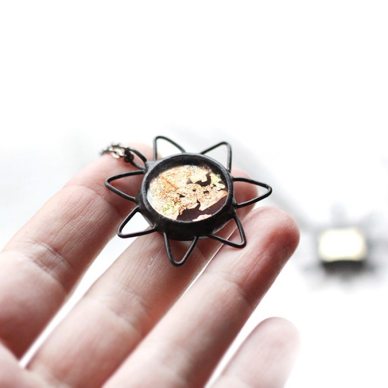 Terrarium Celestial Necklace