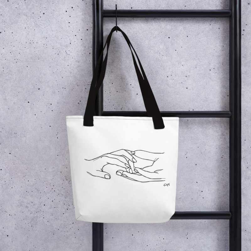 """The Connection"" Tote Bag"