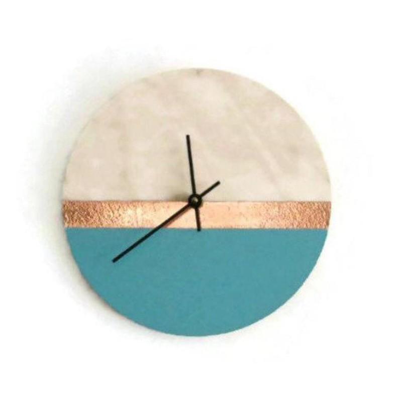 Reclaimed Modern Wall Clock