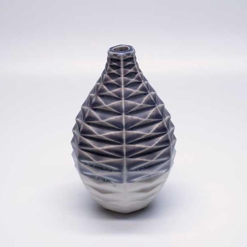6-15 Dark Lavender Vase