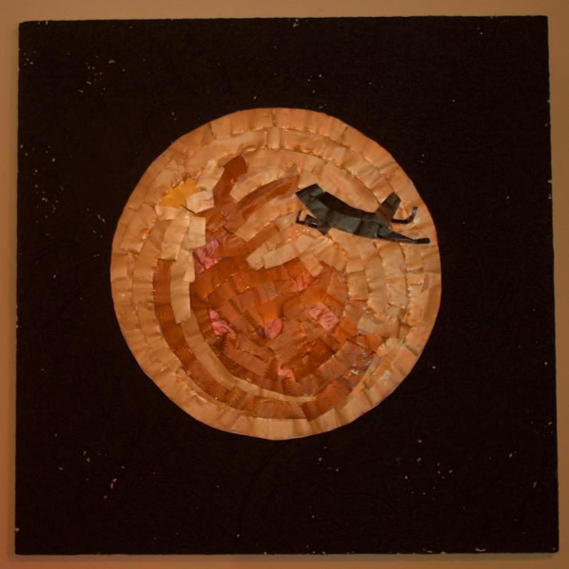 Earth/Night -  Watercolor Artwork