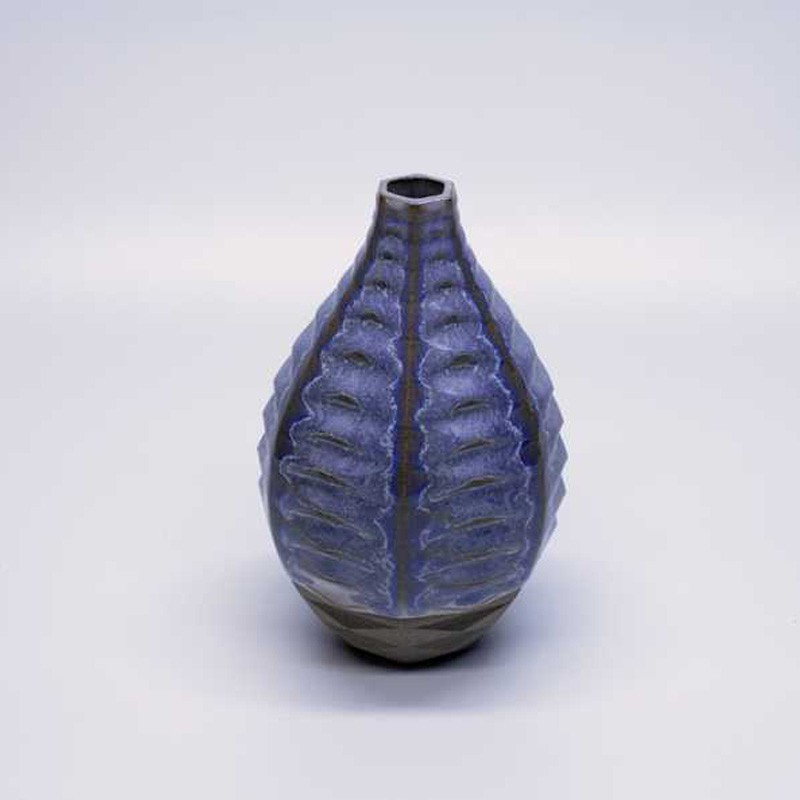 6-15 Light Blue Vase