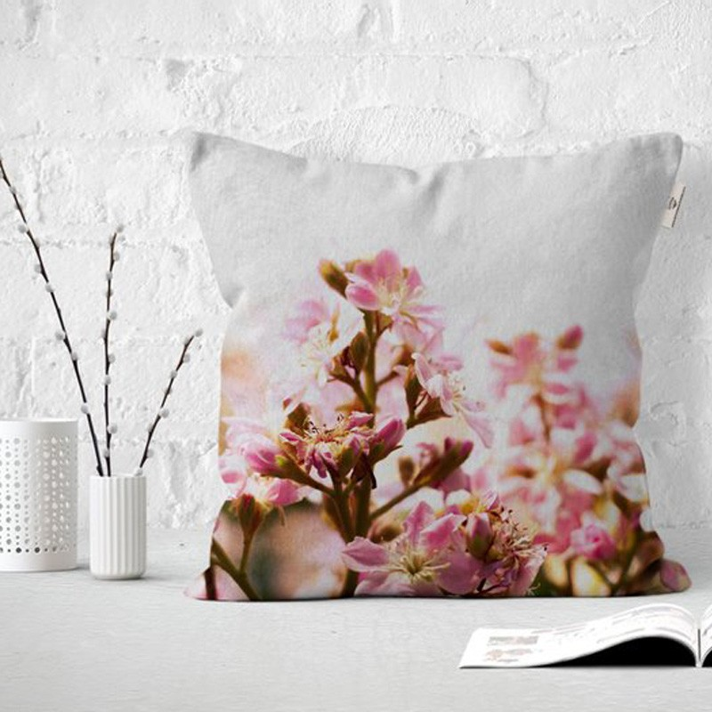 Nature Inspired Throw Pillow (sold with pillow insert)