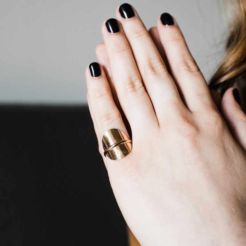 Handmade Reflect Ring