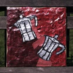 Afloat - Acrylic Paints Artwork