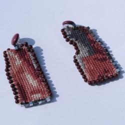 Bordeaux Earrings