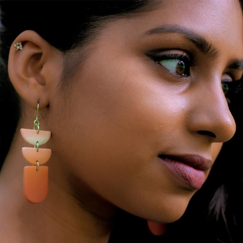 Crescent Cuties - Statement Earrings