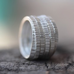 Wrapped Silver Ring
