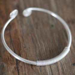 Spiral Cuff Bracelet
