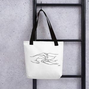 """""""The Connection"""" Tote Bag"""