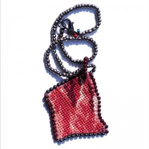 Necklace Bordeaux