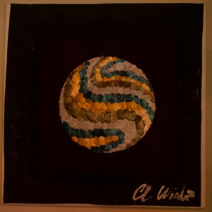Pearl Planet -  Watercolor Artwork