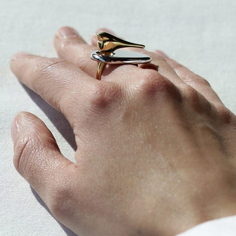 Statement Bird Ring