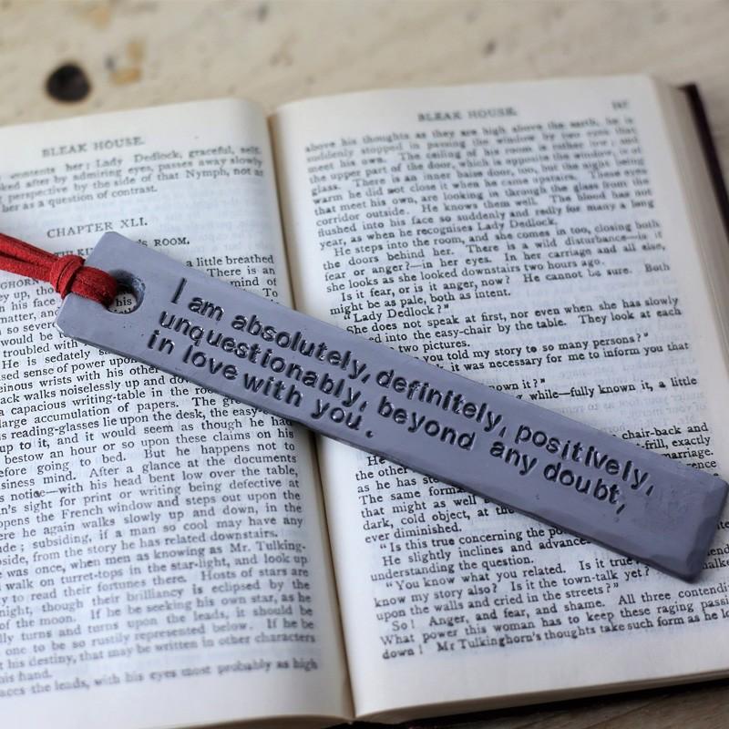 Steel Bookmark