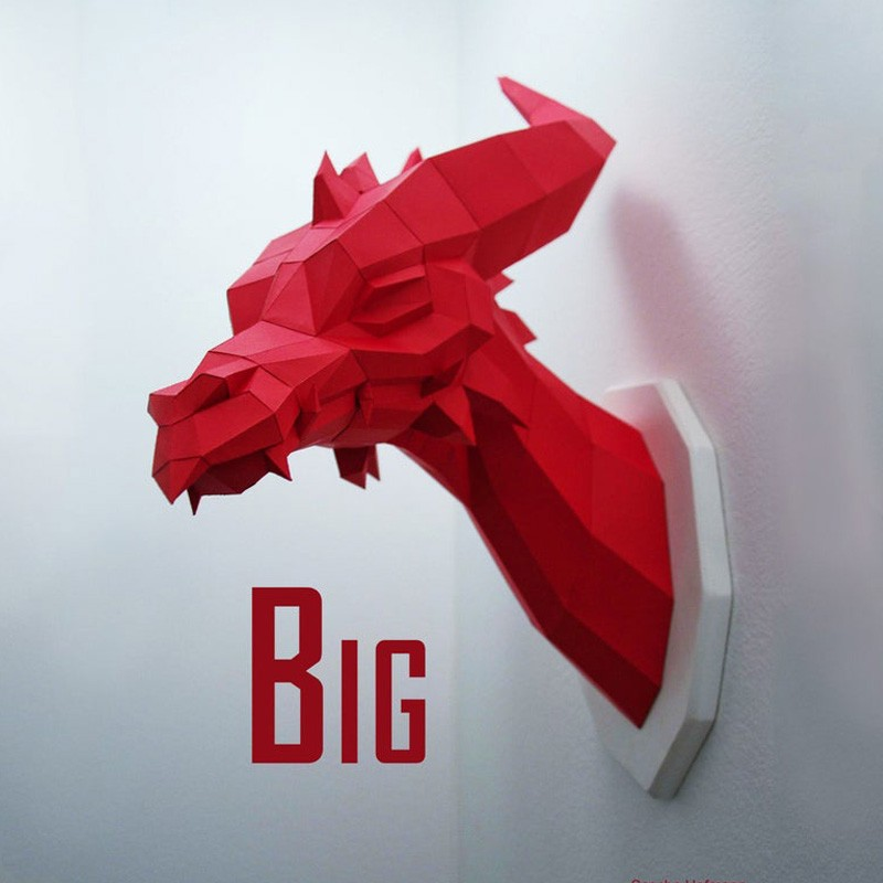 Big Dragon - Papercraft Kit