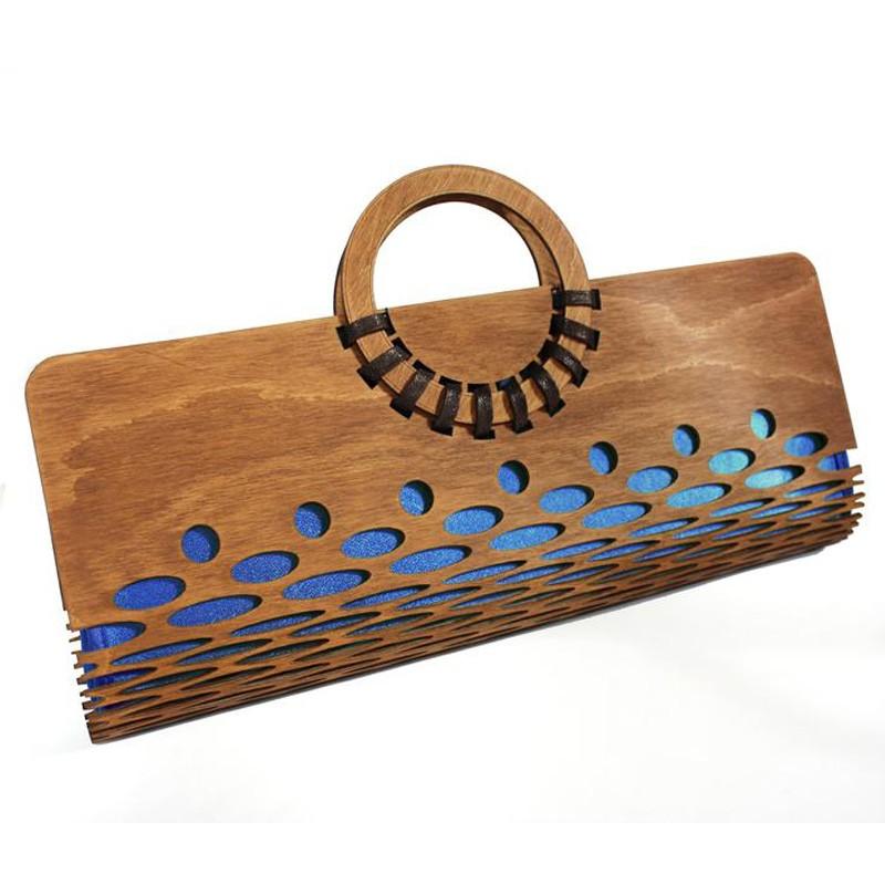 Cherry Wood Handbag