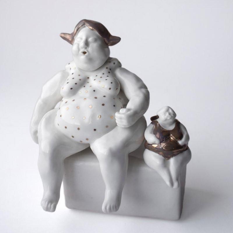 Porcelain Angel Figurine