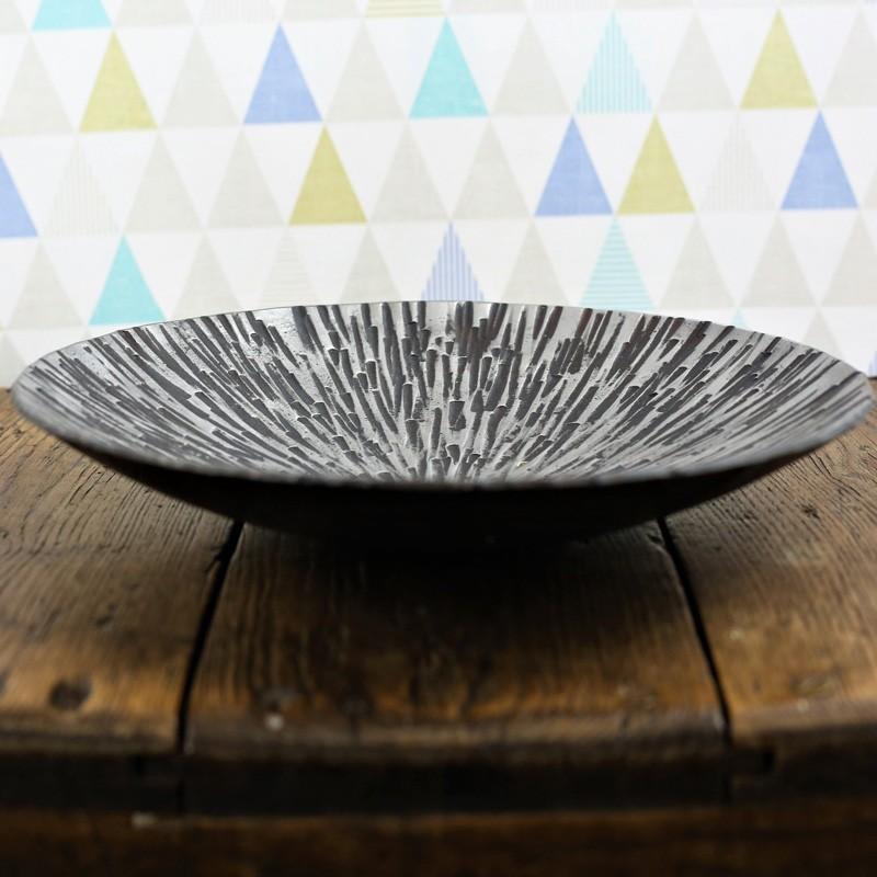 Starburst Steel Dish