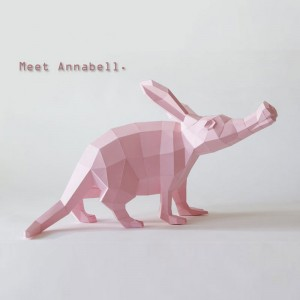 Aardvark / antbear DIY Papercraft Template