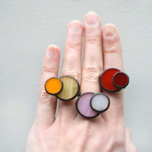 Stained Glass Cocktail Ring