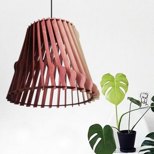 Scandinavian Style Wave Pendant Ceiling Lamp