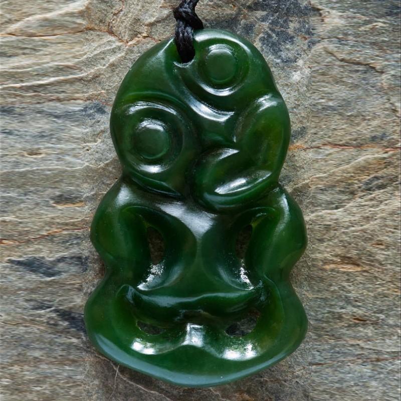 Jade Tiki necklace