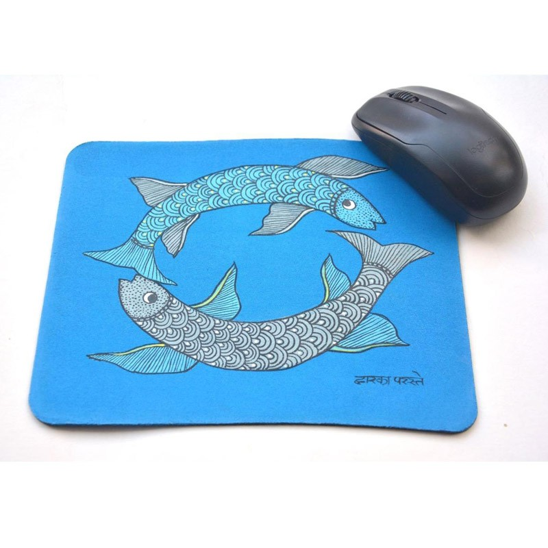 Gond Mouse Pad Fish