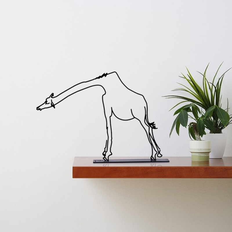 Wanetik Art - Giraffe Sculpture