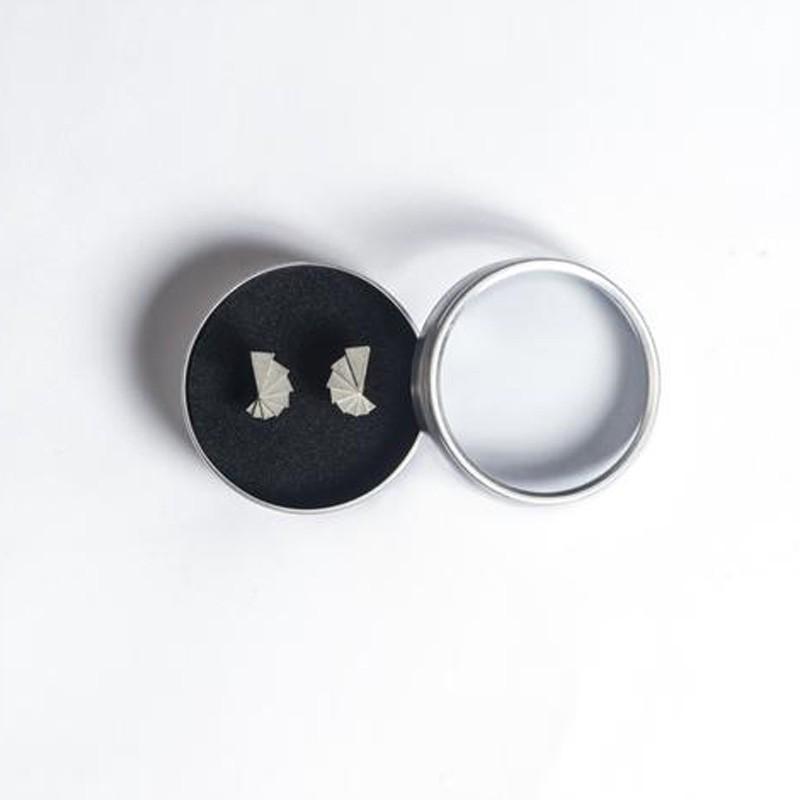 Micro Concrete Earrings