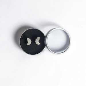 Micro Concrete Earrings