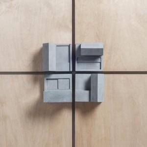 Miniature Home Concrete Door Knobs