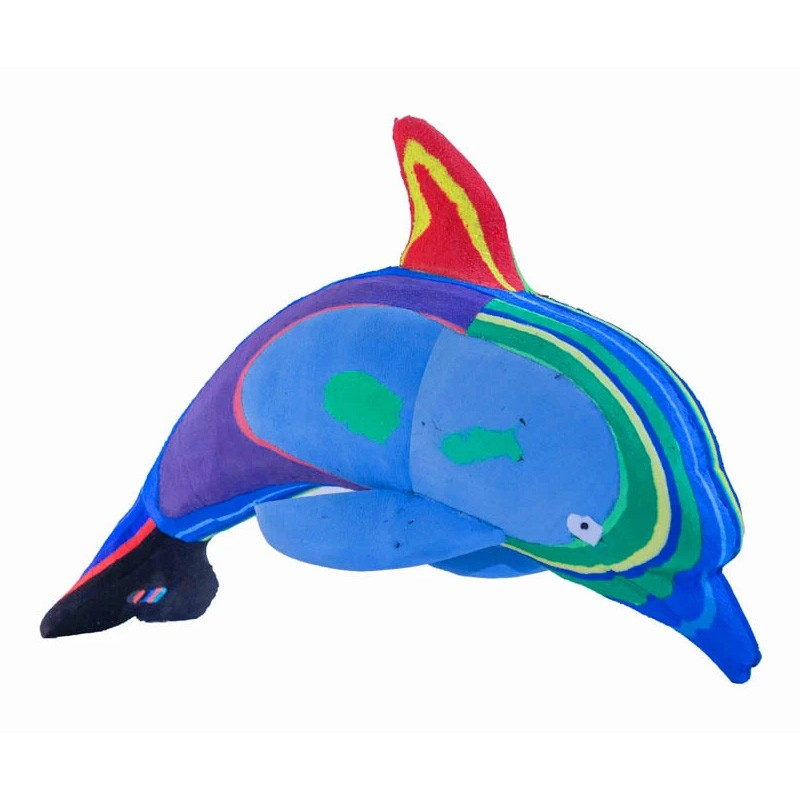 Flip Flop Recycled Dolphin