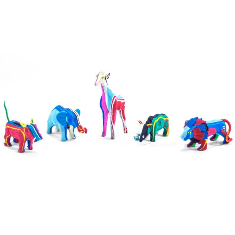 Small Flip Flop Recycled Safari Set