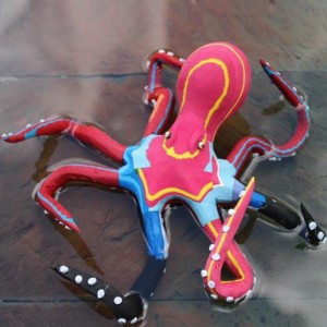 Flip Flop Recycled Octopus