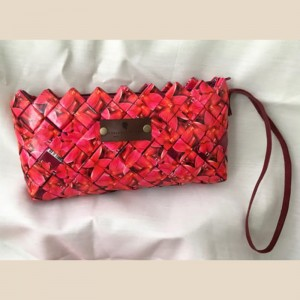 Upcycled Wristlet Purse