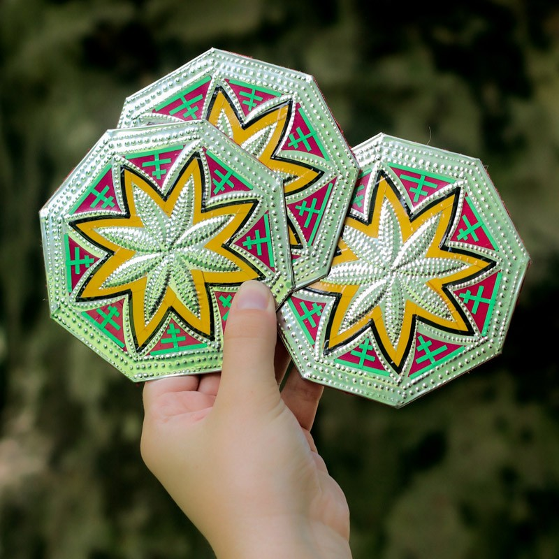 Handmade Coasters - Set of 4