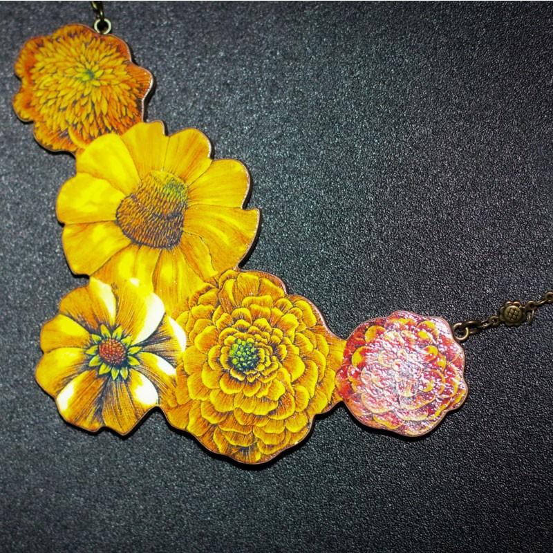 Marigold Statement Necklace