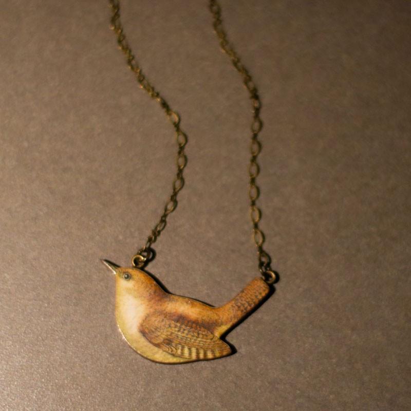 Sparrow Statement Necklace