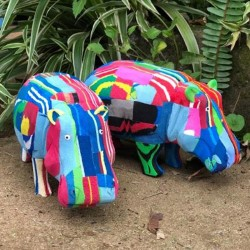 Flip Flop Recycled Hippo