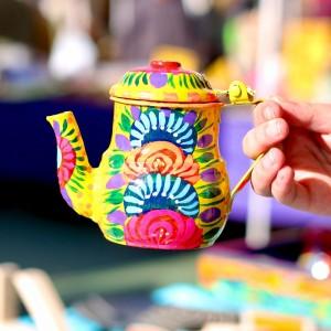 Handpainted Teapots